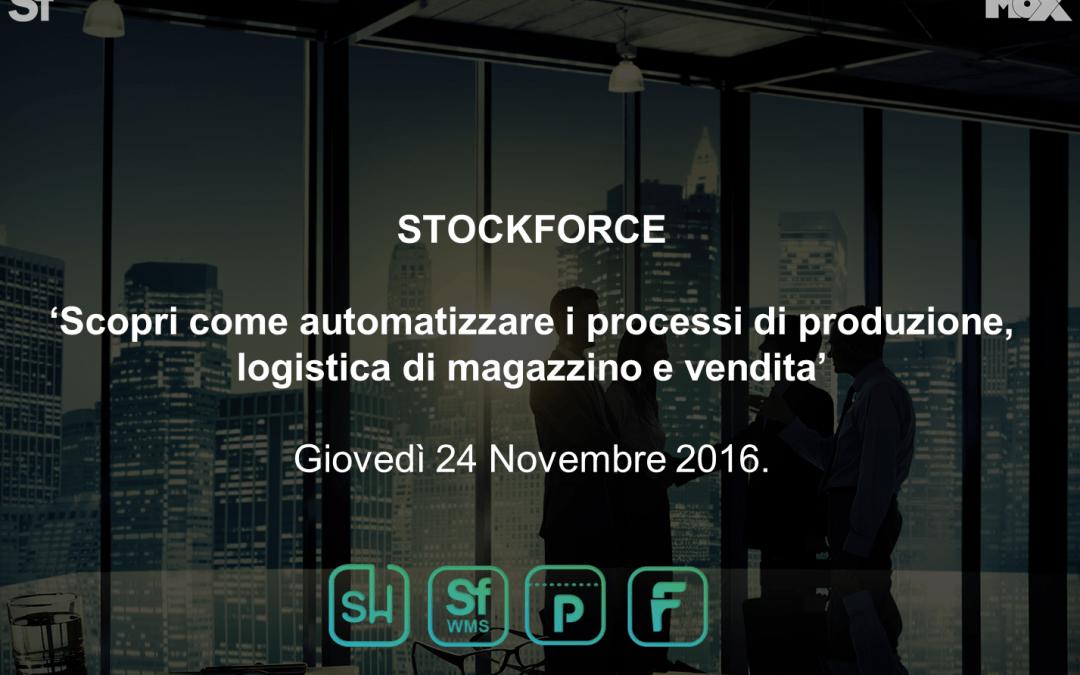 Resoconto dell'evento: Scopri Come automatizzare i processi di produzione, logistica di magazzino e vendita.