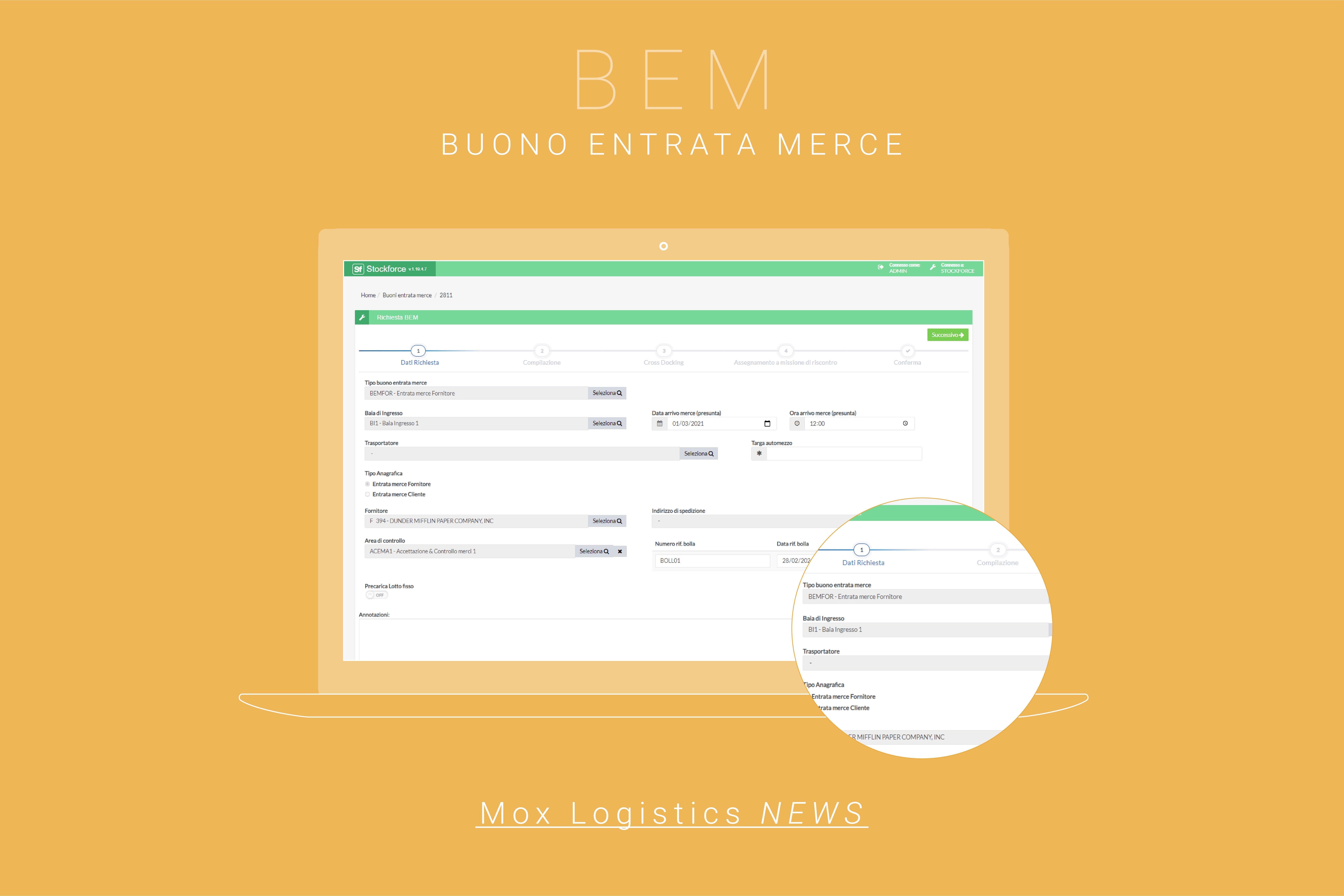 Buono Entrata Merce (BEM): Il valore aggiunto di un buon WMS