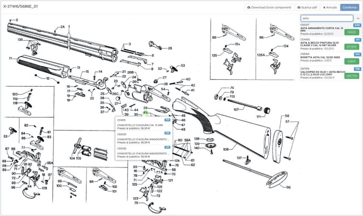 ShowK CQP Spare parts
